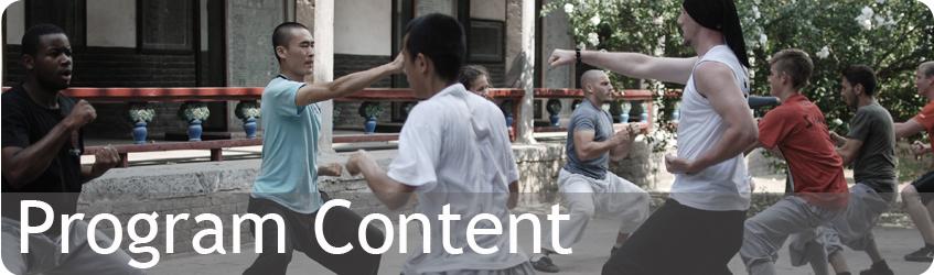 Shaolin Temple Experiences - Program Content