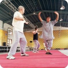 CK Martial Hearts Shaolin Temple Experience Master Hao Teaching