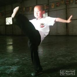 Kids Kung Fu at Home – Staying fit come rain, shine or smog!